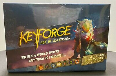 $ CDN73.48 • Buy Keyforge Age Of Ascension Booster Box New Sealed FFG