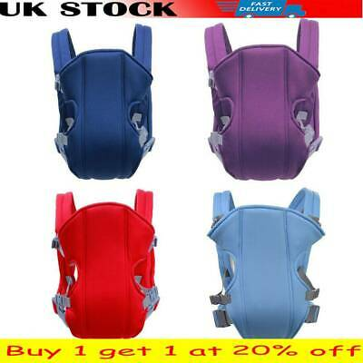 Adjustable Infant Baby Carrier Wrap Sling Hip Seat Newborn Breathable Backpack C • 7.99£