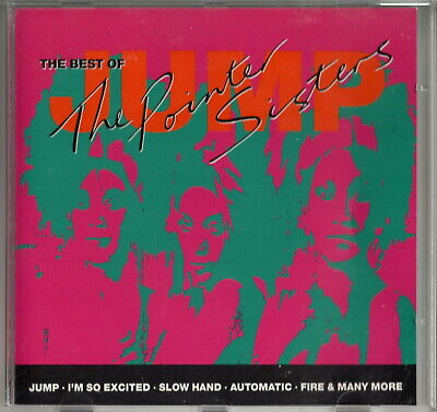 THE POINTER SISTERS: 'Jump (Best Of...)' CD • 3.99£