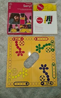 Vintage 1973 Waddingtons Sorry! Board Game Missing 1 Purple Playing Pawn • 12.95£