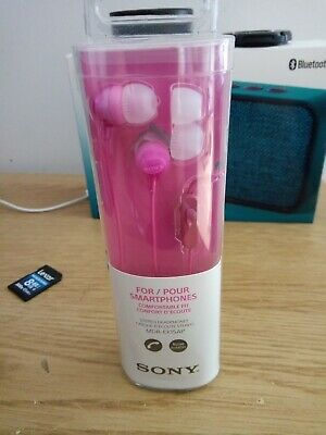 Sony MDR-EX15AP In-Ear Foldable Wired Headphones - Pink • 1.99£