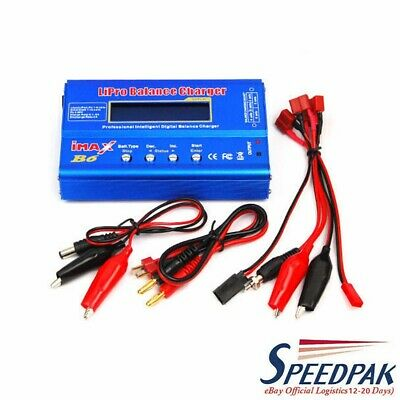 AU31.67 • Buy IMax B6 Balance Charger LCD RC Lipo Lithium NiMh Digital Battery Discharger 80W