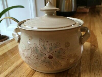 Denby Maplewood (Sandalwood) Small Covered Casserole Dish - VGC • 15£