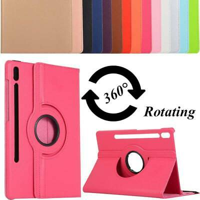 AU14.96 • Buy For Samsung Galaxy Tab A S5e S6 S7 Plus Case Leather Rotating Cover Shockproof