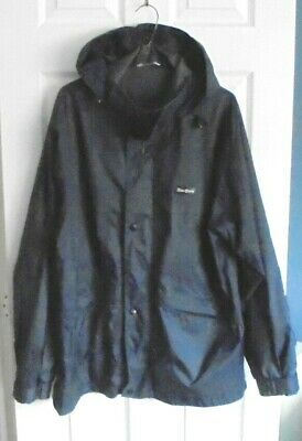 PETER STORM Size L Blue Nylon With PU Backing Hooded Shower Proof Jacket--L 31   • 0.99£