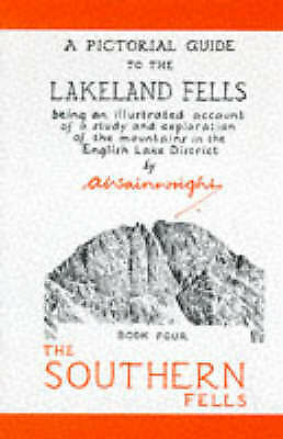 A Pictorial Guide To The Lakeland Fells Book F... By Wainwright, Alfred Hardback • 5.99£