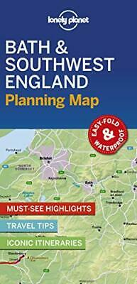 £5.19 • Buy Lonely Planet Bath & Southwest England Planning Map By Lonely Planet Book The