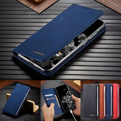 AU13.99 • Buy Case For Samsung S20 Ultra S10 + S9 8 Plus Leather Magnetic Wallet Card Cover