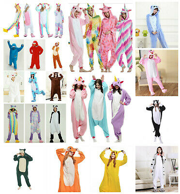 AU21.03 • Buy Adult Kids Unicorn Onesie00 Animal Costume Cosplay Pyjamas Slipper Sleepwear PJ
