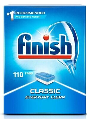 Finish Powerball Classic Dishwasher Tablets Regular Pack Of 110 Tablets (1.79kg) • 11.25£