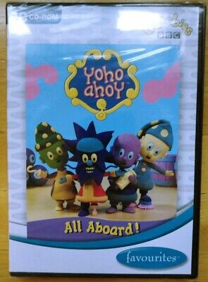 Yoho Ahoy All Aboard PC Game ( CBeebies BBC ) Kids Game ( New & Sealed ) • 6£