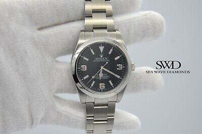 $ CDN10080.50 • Buy Rolex Explorer Stainless Steel Black Dial Automatic Mens Watch 214270