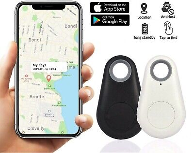 2X Mini Bluetooth Tracker Wireless Key Finder Alarm Wallet Car Child Locator  • 9.99£