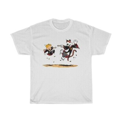 Calvin And Hobbes Harry Potter Adult Size T-Shirt • 14.31£