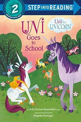 £8.29 • Buy Uni Goes To School (Step Into Reading) By Amy Krouse Rosenthal Book The Cheap
