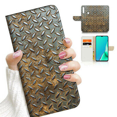 AU12.99 • Buy ( For Vivo Y12 / Y15 / Y17 ) Wallet Case Cover PB23661 Rusty Iron