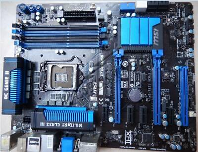 AU221.47 • Buy MSI Z77A-GD55 Intel Z77 ATX Motherboard DDR3 LGA 1155/Socket