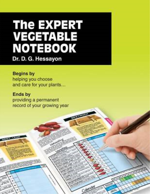The Expert Vegetable Notebook, D.G. Hessayon, Used; Good Book • 3.49£