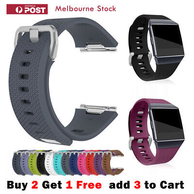 AU6.80 • Buy Fitbit Ionic Band Replacement Strap Smart Watch Wristband Soft Sports Bracelet