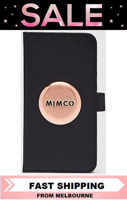 AU55.10 • Buy Mimco Mim Flip Case For Iphone 11 Case Cover Black Rose Gold Bnwt Rrp $99.95