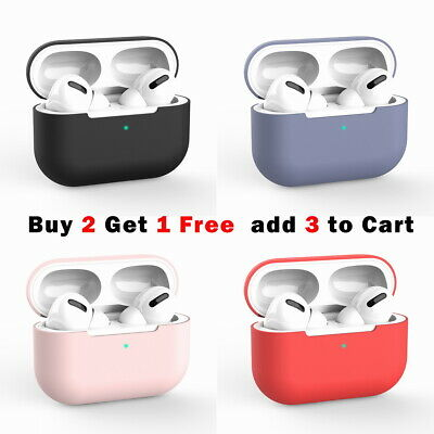 AU5.65 • Buy For Apple AirPods Pro Case Airpods Case Shockproof Silicone Cover Slim Skin