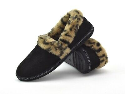 Skechers Womens Slippers Cozy Campfire-Frisky Gal 44355/BLK  Faux Fur Slippers • 31£