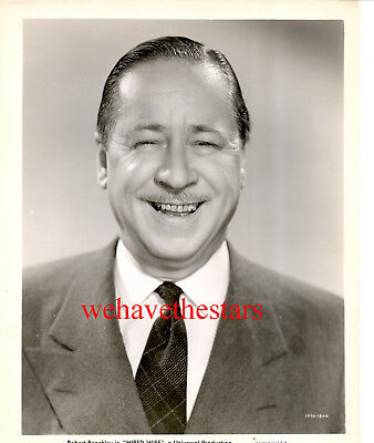 £28.24 • Buy VINTAGE Robert Benchley CHARACTER ACTOR '40 HIRED WIFE Publicity Portrait