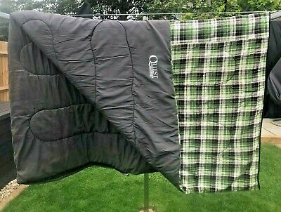 Quest Cascade Sleeping Bag Single King Size 191 X 83cm - Hardly Used Immaculate • 34.99£