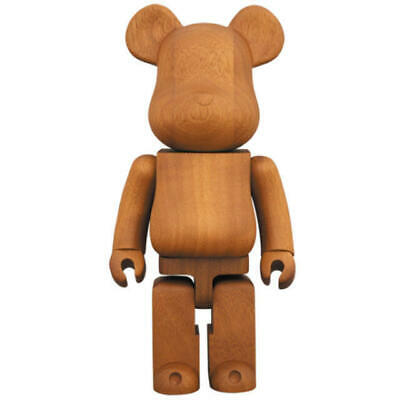 $2874.99 • Buy Medicom Toy Be@rbrick Karimoku  IROKO Wooden 400%  Wood Bearbrick