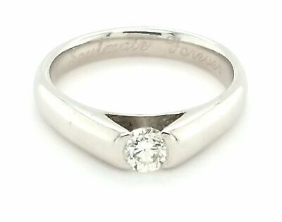 AU899 • Buy 14ct WHITE GOLD DIAMOND SOLITAIRE RING TDW 25pts VALUED @ $1799