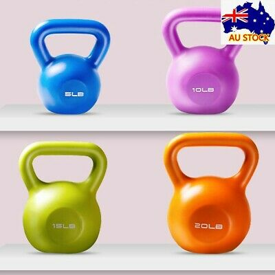 AU26.95 • Buy Kettlebell 6kg-10kg Brand New Kettle Bell Weight Exercise Home Gym Workout