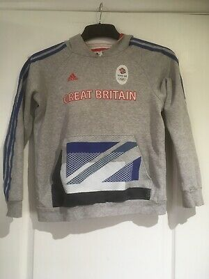 TEAM GB Hoodie Top Size 11-12 Years London 2012. USED.Good Condition  • 4.99£