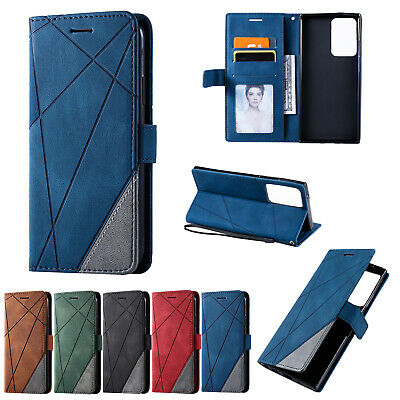 $ CDN6.47 • Buy For Samsung Note20 S20 Ultra S10 S9 S8+ Magnetic Flip Wallet Leather Case Cover