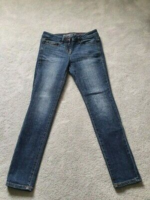Next Womens Skinny Slouch Jeans Size 8. Used Only Worn A Few Times • 8£
