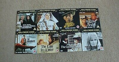 Daily Mail Promo DVD X 8 - Hollywood Icons Collection • 4.50£