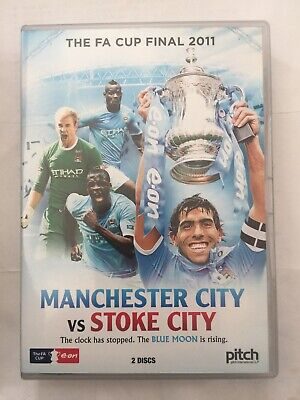 Manchester City Vs Stoke City - The FA Cup Final 2011 (DVD, 2011, 2-Disc Set) • 1.99£