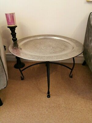 Silver Side Table /coffe Table  • 95£