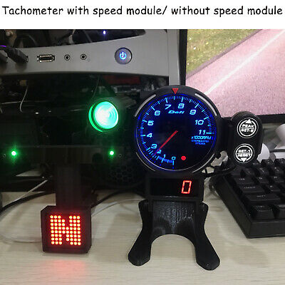 12V RPM Tachometer PC GAME Simulated Racing Game Meter Logitech G29 THRUSTMASTER • 78.21£