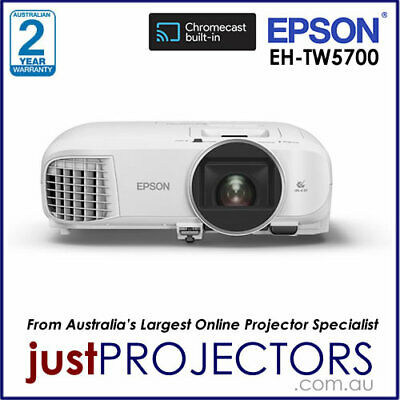 AU1375 • Buy Epson EH-TW5700 Home Theatre Smart Projector. 100% Aussie Release, 2 Yr Warranty