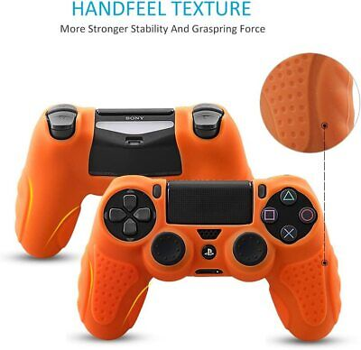 AU33.99 • Buy Cover For PS4 Controller DualShock4 Skin Grip Anti-Slip Silicone Case PPS4 Pro R