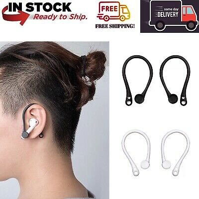 AU8.99 • Buy Silicone Earphone Ear-hook Loop Holder  Anti-Lost Anti-Drop/Fall For AirPods