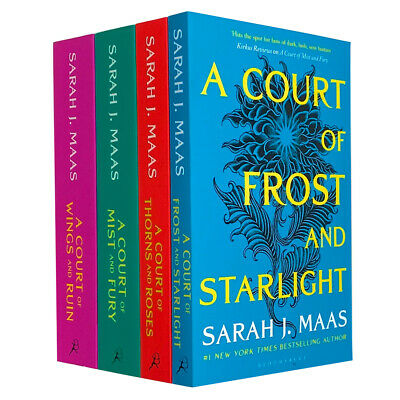 $37.07 • Buy Sarah J. Maas 4 Books Collection Set A Court Of Thorns And Roses Series