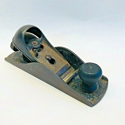 Stanley Flat Block Plane No. 220 Made In USA Vintage • 11.47£
