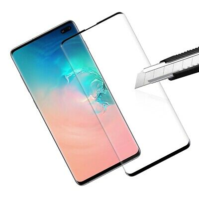 $ CDN10.99 • Buy Case Friendly Tempered Glass Screen Protector Samsung Galaxy S10 9 8 7, Note 9 8