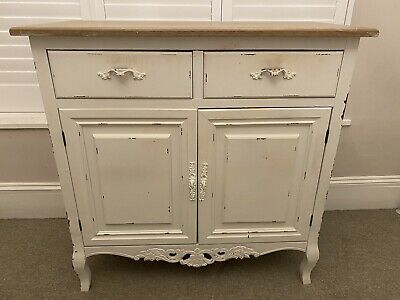 DUNELM Camille Ivory Sideboard French Chateau Style Shabby Chic Vintage Style • 29£