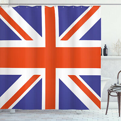 Union Jack Shower Curtain British Loyal • 23.99£
