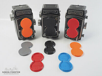 Forster UK TLR Lens Cap For Bay 1 Rollei, Yashica,  Microcord And Others • 9.99£