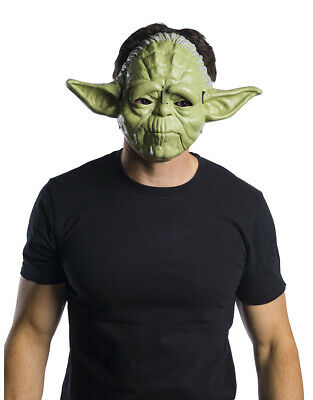 Yoda Movable Jaw Mask, Kids Star Wars Classic Costume Accessory, Age 6+ • 14.99£