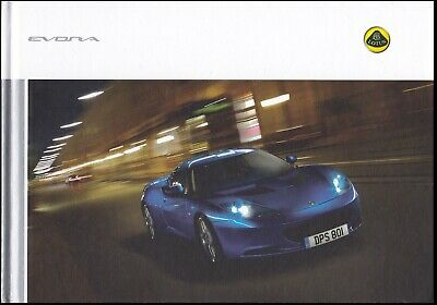 $ CDN26.35 • Buy Brochure 2010 LOTUS EVORA & EVORA S !!! ___ French / German Text________________