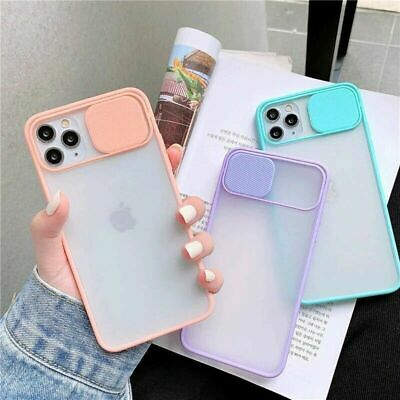 AU4.66 • Buy Slide Camera Lens Full Cover Shockproof Phone Case For IPhone 11 Max Pro 8 7 6 X